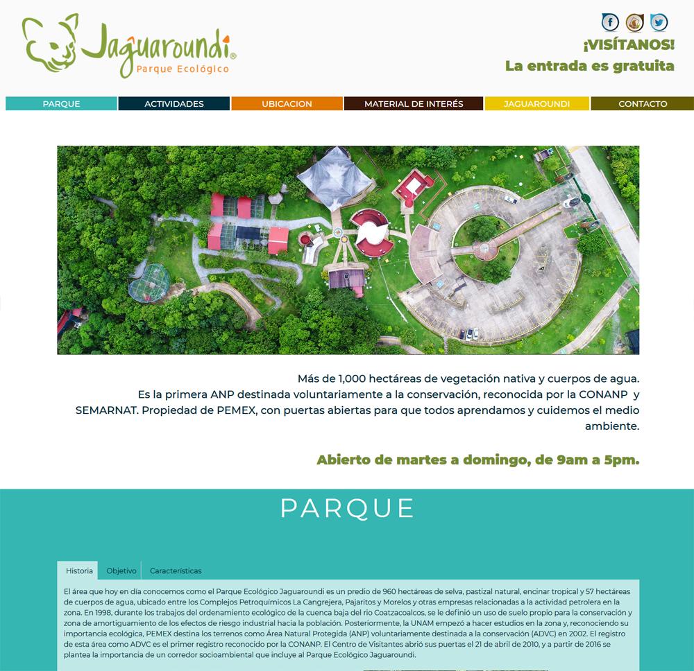 PARQUE JAGUARUNDI